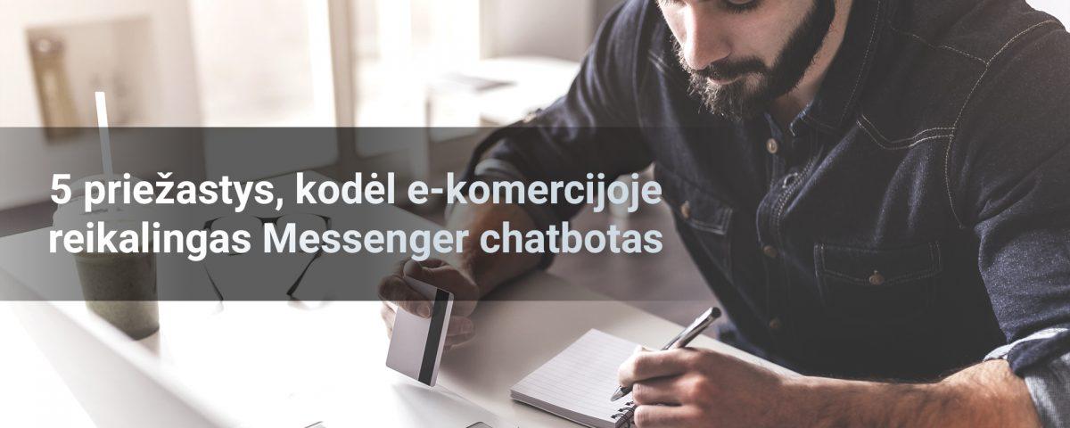 Messenger chatbotas