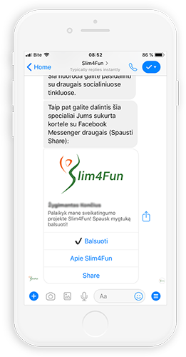 Messenger chatbot sprendimai