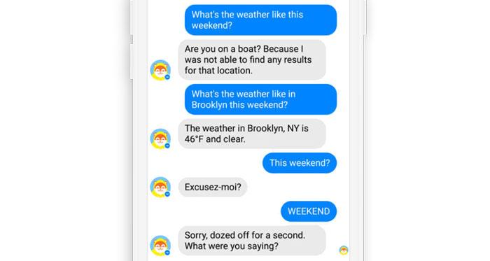 pasimetantis chatbotas