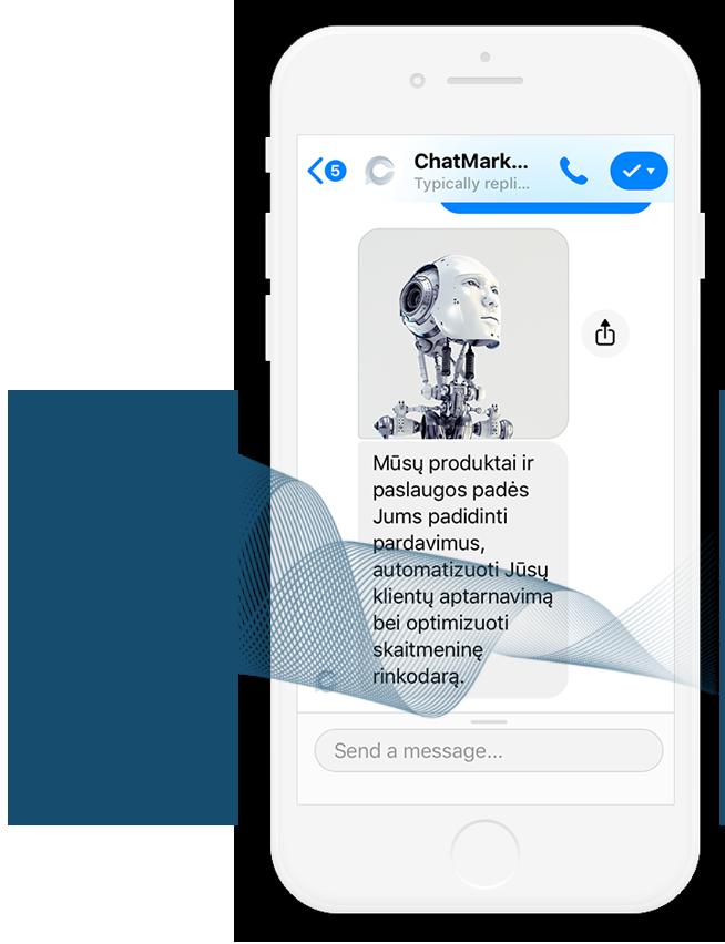 Messenger chatbotų kūrimas