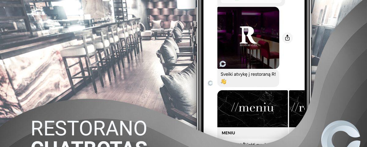 messenger chatbotas restoranui