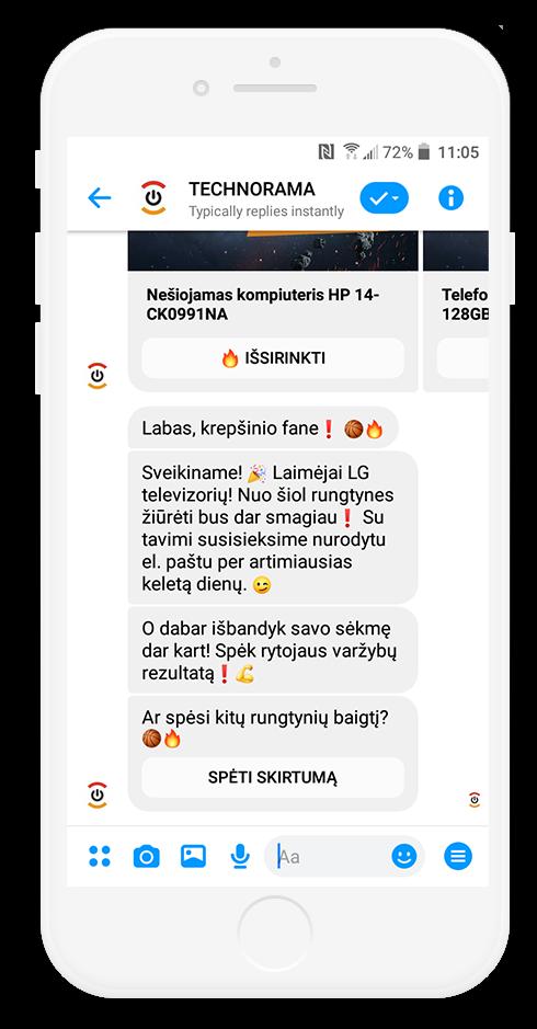BIGBOX.LT Chatbot